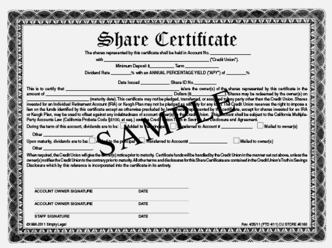 pretty shareholding certificate template images gallery